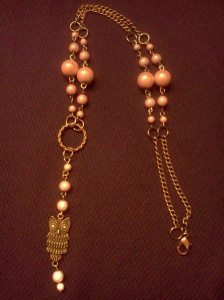 pink owl necklace 3